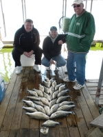 Fish caught on Lake Texoma with fishing guide Brian Prichard.